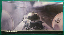 """Star Wars Topps 1996 3Di Widevision Card #54 """"Artoo Hanging On!"""""""