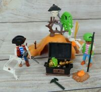 Playmobil Pirates Treasure Island Playset 35 Pieces Geobra #5728