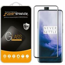 2 Pack OnePlus 7 Pro Tempered Glass Screen Protector Full Cover 3D Curved Glass