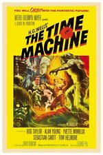 "H.G. Wells The Time Machine Sci-Fi Movie Poster 12"" X 18"""