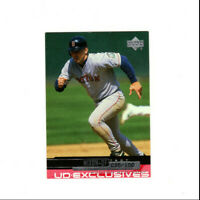 2000 Upper Deck UD Exclusives Trot Nixon Parallel Card #'d 35/100 Red Sox OF!