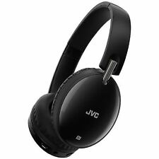JVC Has70btbe Black Premium Sound Bluetooth Around Ear Headphones Headset