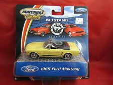 Matchbox Collectibles 1:43 40th Anniversary 1965 Ford Mustang - Yellow - New!