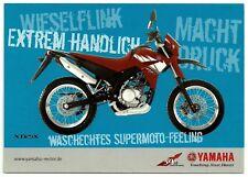 Marketing-cartolina 50. anniversario YAMAHA touching your heart: YAMAHA XT 125 X
