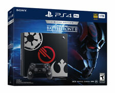 Playstation 4 PS4 Pro 1TB Star Wars Battlefront II 2: Limited Ed. Console Bundle