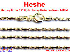 Heshe Style 925 Sterling Silver Chain Fancy Necklace Jewelry For Pendant