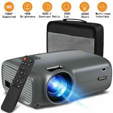 Jeemak Tragbar Mini Heimkino Projektor Beamer HDMI Theater HD 1080P Video Cinime