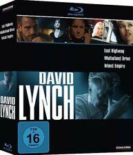 New David Lynch 3 Disc Blu-Ray Set Mulholland Drive/ Lost Highway/ Inland Empire