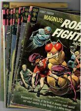 👁 Doctor Solar Man Of The Atom # 21,25,26 Magnus Robot Fighter #  6,9,16,20,24