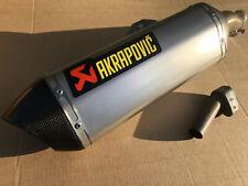 HONDA CBR500R CB500X CB500s Akrapovic Titanium Exhaust End Can