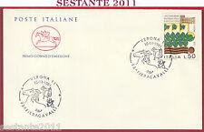 ITALIA FDC CAVALLINO 93 ^ FIERACAVALLI FIERA CAVALLI VERONA 1991 U658