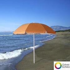 Sombrilla playa proteccion UV aluminio 200 cm. de Papillon.