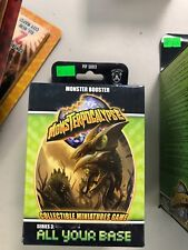 All Your Base Monster Booster - Monsterpocalypse - NIB - Free Shipping