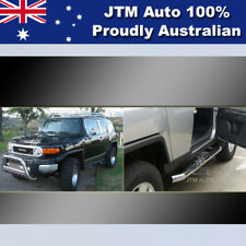 Side Steps + Nudge Bar Stainless Steel to suit Toyota Fj Cruiser 2007-2016