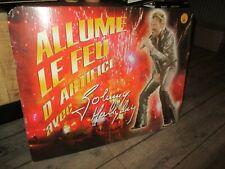 Johnny Hallyday-PLV géante-(Rubies)Allume le feu-Introuvable-(63 cm x 49 cm)