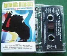 Top Ten Hits of The 60s Vol 2 Joe Cocker Sandie Shaw + Cassette Tape - TESTED