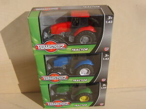 Teamsterz Toys. 3 Tractors.New Boxed.Guaranteed delivery