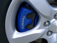 SUBARU Brake Caliper Decals Impreza Forester Outback BRZ Tribeca ALL OPTIONS