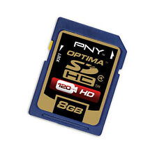 PNY 8G SDHC SD card for Pentax Optio RZ 18 WG-1 GPS VS20 WG-2 HD camera