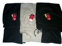 Pantaloni Uomo Rugby Pieno Elasticizzato Comfort Fit Pantaloni Girovita W32-W48 L27 29 31
