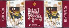 2013 Europa CEPT - Montenegro - middle row