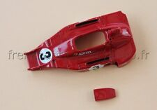 BT Voiture course Ferrari F1 312 B3  1973 Jacky Ickx  1/43  Heco modeles rouge