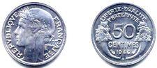 50 CENTIMES MORLON 1946 B . ALUMINIUM . SPL .