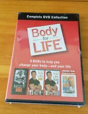 Body For Life Complete DVD Collection 4 DVD Set Sealed New
