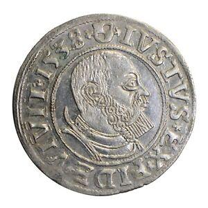 Germany Prussia Groschen Albert dated 1538