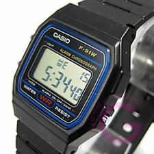 CASIO (CASIO) F-91W-1/F 91W-1 standard blue dial Unisex Watch watches