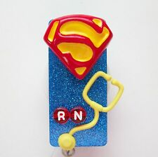 NURSE SUPER DUPER RN NURSE MEDICAL DOCTOR EMT NURSE VET ID BADGE HOLDER