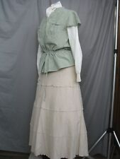 Victorian Dress Edwardian Costume Civil War Style Prairie Western Reenactment