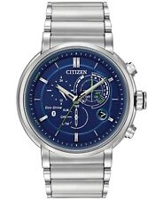 Citizen Eco-Drive Men's Proximity Chronograph 46mm Smartwatch BZ1000-54L