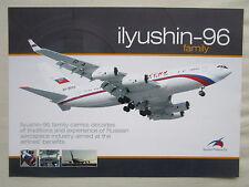 2000'S DOCUMENT RECTO VERSO ILYUSHIN FINANCE IL-96 FAMILY AIRLINER