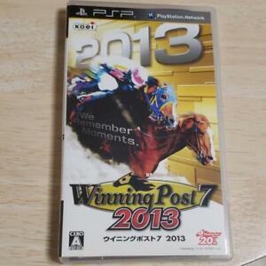 PSP Winning Post 7 2013 4988615046254 From japan