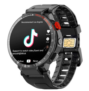 Smart Watch phone Fitness Android 7.1 iOS Wifi 4G Smartwatch Men 1.6 Inch GPS