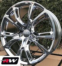 "20"" inch RW Wheels for Jeep Grand Cherokee 20x9"" Chrome SRT8 Rims 5x127 +34"