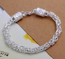 """Mum Sister Free Christmas Gift 8"""" Silver Bracelet Bangle Present for"""
