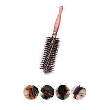 Natural Boar Bristle Hair Brush Massage Comb Salon Hairdressing Hairbrush Twill