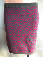 BNWT Ladies Sz 26 Anko Curve Brand Long Forest Floral Crinkle Pleat Skirt