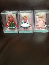 2000 Hallmark Merry Miniatures Madame Alexander Little Red, Mother Goose & Mary