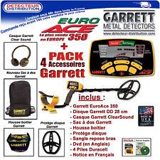 EuroAce - PROMO !!! Détecteur de métaux Garrett Euro Ace 350 Pack Pro
