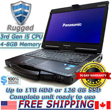 Panasonic Toughbook CF-53 MK2 i5-3320M 2.6Ghz 8GB 500GB HDD DVD BT Rugged Laptop