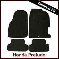 HONDA PRELUDE Mk5 1996-2001 Tailored Carpet Car Floor Mats BLACK