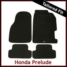 Honda Prelude Mk5 1996-2001 Tapis de voiture Tapis de sol NOIR