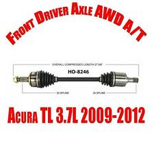 Front Driver Side with AWD and A/T Cv Shaft Axle for Acura TL 3.7L 2009-2012
