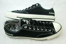 Converse X Suicidal Tendencies Mens Chuck 70 OX Black Canvas Shoes Size 11 New