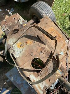 sears tractor gas tank Straps