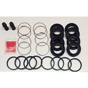 Genuine OEM Nissan 4 Piston Front Brake Caliper rebuild kit S14 S15 R32 R33 R34