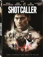 Shot Caller [DVD] New, Free Shipping
